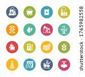 energy icons    fresh colors   Shutterstock .eps vector #1765982558