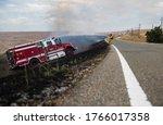 Fire Brigade Extinguishing The...