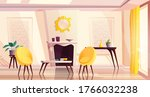 luxury living room interior in... | Shutterstock .eps vector #1766032238