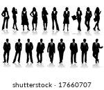 business people | Shutterstock .eps vector #17660707