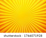 bright orange and yellow rays... | Shutterstock .eps vector #1766071928