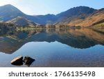 Landscape View Of Buttermere In ...
