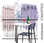 Paris Hand Drawing Illustratio...