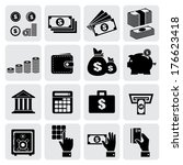 Finance And Money Icons Set ...