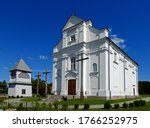 Small photo of the Catholic church of Saint Sigismund of Burgundy, ordained in 1910 in the village of Kleszczele in the Podlasie region of Poland