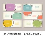 retro design templates for... | Shutterstock .eps vector #1766254352