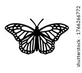 Monarch Butterfly Symbol....