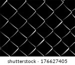 Wire Fence Vector Illustration...