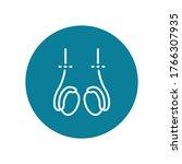 vasectomy flat icon  vector... | Shutterstock .eps vector #1766307935