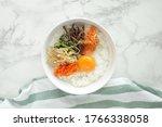 Korean Food  Bibimbap Marinate...