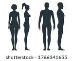 male and female human character ... | Shutterstock .eps vector #1766341655