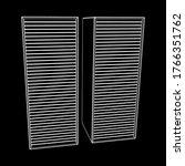 data center storage room object.... | Shutterstock .eps vector #1766351762