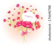 floral design | Shutterstock .eps vector #176640788