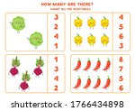 count how many kawaii... | Shutterstock .eps vector #1766434898