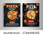 pizza   fast food  flyer poster ... | Shutterstock .eps vector #1766448182