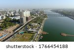 Aerial View Of Ahmedabad...