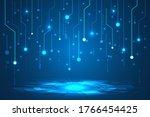 circuit board  high tech ...   Shutterstock .eps vector #1766454425