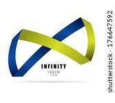 infinity sign   Shutterstock .eps vector #176647592