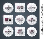 luxury badges and labels  print ...   Shutterstock .eps vector #176652065
