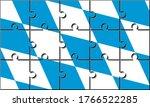 bavaria flag of germany made... | Shutterstock .eps vector #1766522285