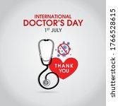 international doctors day... | Shutterstock .eps vector #1766528615