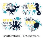 save the ocean. ecology... | Shutterstock .eps vector #1766594078