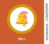 alarm sign. clock bell icon.... | Shutterstock .eps vector #1766595098