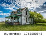 Old  Abandoned  Prairie...