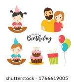 vector set of family who...   Shutterstock .eps vector #1766619005