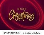 realistic shiny 3d golden... | Shutterstock .eps vector #1766708222
