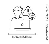 crisis management pixel perfect ...   Shutterstock .eps vector #1766740718