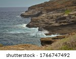 scenic view from Halona Blowhole oahu hawaii usa