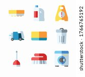 simple set cleaning vector...