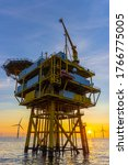 Offshore Substation In The...