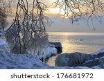 Sunrise At Lake Ontario  Winte...