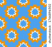 seamless pattern with a... | Shutterstock .eps vector #1766896502