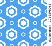 seamless pattern with a... | Shutterstock .eps vector #1766898068