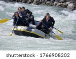 Group Of Businessmen Whitewater ...