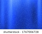circuit pattern on a blue metal ... | Shutterstock .eps vector #1767006728