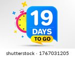 countdown left days banner with ... | Shutterstock .eps vector #1767031205