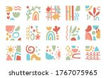 bundle of contemporary arts... | Shutterstock .eps vector #1767075965