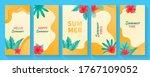 set of social media stories... | Shutterstock .eps vector #1767109052