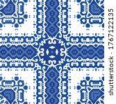 traditional ornate portuguese...   Shutterstock .eps vector #1767122135