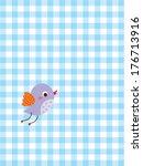 cute little bird | Shutterstock .eps vector #176713916