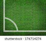 Corner Kick Position. Football...