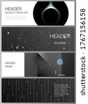 vector layout of headers ... | Shutterstock .eps vector #1767156158