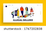 Illegal Sellers Characters...