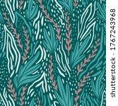 stylish floral seamless pattern ... | Shutterstock . vector #1767243968