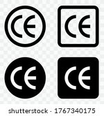 ce mark collection.ce icon... | Shutterstock .eps vector #1767340175