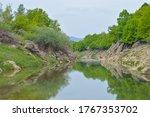 River Otesica Riverbed At...